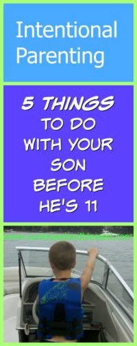 5 Things for Intentional Parenting for Moms with Sons